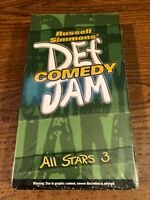 Def Comedy Jam All Stars 3 VHS VCR Video Tape Movie Used Russell Simmons'