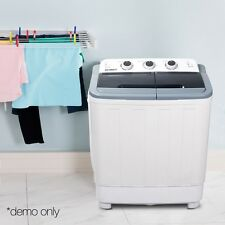 5kg Twin Tub Portable(Mini) Travel Washing Machine Spin Dry - Caravan Home