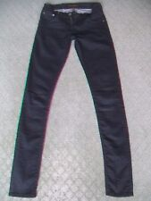 "NUDIE ""TIGHT LONG JOHN"" STRETCH JEANS WMN SIZE 7"