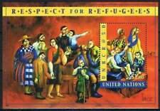 United Nations - New York postfris 2000 MNH blok 20 - Respect voor Vluchtelingen
