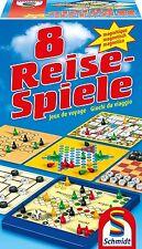 SCHMIDT SPIELE 49102  - 8 REISE-SPIELE - MAGNETISCH # NEU OVP
