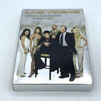 LAS VEGAS Third Season 3 Uncut & Uncensored (5 DISC SET) NBC TV Show Rare OOP