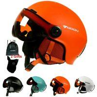 Helmet Integrally Molded PC+EPS CE  Goggles Ski Snowboard Skiing (Free Shipping)