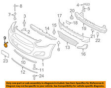 HYUNDAI OEM 12-14 Accent Front Bumper-Tow Eye Cap Cover 865171R000