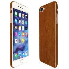 Skinomi Light Wood Skin+Clear Screen Protector For Apple iPhone 7 Plus