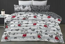 Mickey Mouse -Clubhouse- Disney - Double/US Full Bed Quilt Doona Duvet Cover Set