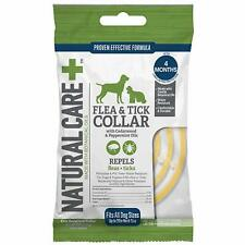 Natural Care REPELLENT FLEA & TICK COLLAR for DOGS & PUPPIES 4 Month Protection