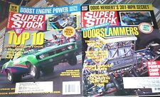 SUPER STOCK DRAG ILLUSTRATED Magazines May June 1993 SCOTT LONG '55 CHEVY Rods