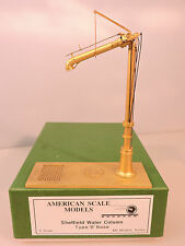BRASS IMPORTS O Scale American Scale Models Sheffield Water Column