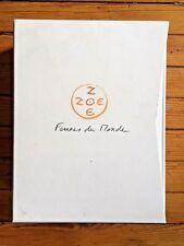 Titouan Lamazou - Zoe Zoe Femmes Du Monde art book photopgraphy RARE