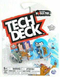 Tech Deck Thank You ULTRA RARE World Pro Edition Fingerboard