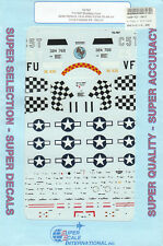 1/72 SuperScale Decals P-51B Mustang Aces Green Peterson Millikan 72-767