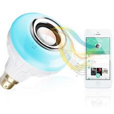 BWL Music Light Bulb - Bluetooth Speaker with B22 led light bulb –Changing Color