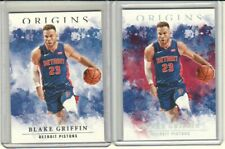 2020-21 Origins Basketball - Blake Griffin Red Parallel + Base #4 - Pistons
