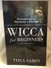 Wicca for Beginners by Thea Sabin  Wicca Pagan  Metaphysical