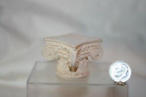Miniature Dollhouse Vintage Italianate Garden Pedestal Riser or 1:12 NR