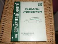 SUBARU Forester 1998 Reparatur Handbuch Abschnitt Reparatur