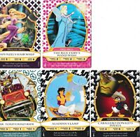 Disney Sorcerers Of The Magic Kingdom Cards Lot of 5