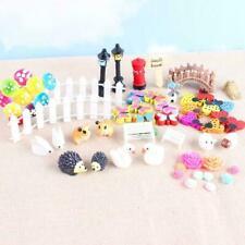 58 pcs Miniature Fairy Garden Ornament Decor Pot DIY Craft Accessories F0S0