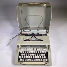 vintage HERMES 3000 typewriter portable with box working FRANCE 1970 First Ed