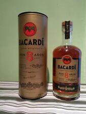 Rhum vieux Old Rum Ron Bacardi 8ans d'âge Puerto Rico 40%, 70CL