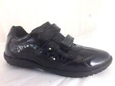 Nib Geox Girls J Bon Light-Up Sneaker On/Off Switch US 12 Eu 30 Patent Leather
