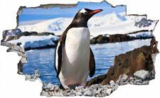 Pinguin Arktis Eis Wandtattoo Wandsticker Wandaufkleber C2362
