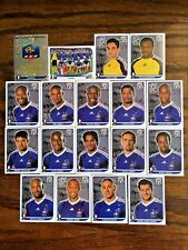 FRANCE TEAM, 18 PANINI STICKERS, WORLD CUP SOUTH AFRICA 2010 #AFRICA04