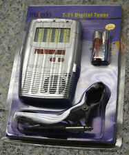 Musedo Digital Chromatic Guitar and Violin Tuner and Tone Generator T21