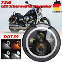LED Scheinwerfer 7Zoll Premium Projektor passend für Harley Davidson Touring 60W