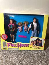 FULL HOUSE JESSE'S FAMILY DOLLS - JESSE, BECKY, NICKY AND ALEX