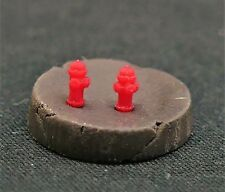 USA Plastic - N Scale Fire Hydrant- Red/ 10-Pack 1600788