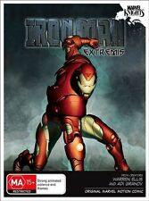 W2 BRAND NEW SEALED Marvel Knights - Iron Man : Extremis (DVD, 2010)
