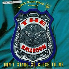 DANCE FLOOR VIRUS DON'T STAND SO CLOSE TO ME CD SINGLE CARPETA CARTON STING