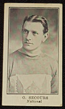 1912 - LACROSSE C61 - O. SECOURS #41 - NATIONAL - IMPERIAL TOBACCO CARD