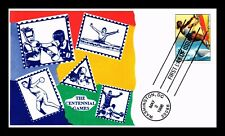 DR JIM STAMPS US CENTENNIAL OLYMPIC GAMES SAILBOARDING UNSEALED FDC COVER