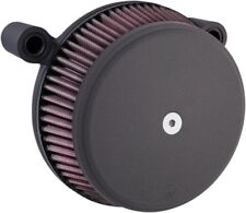 Arlen Ness Black Stage 1 Big Sucker Intake Air Cleaner Filter Kit Harley Touring
