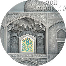 2020 Palau - Tiffany Art Safavid 2oz 50mm Silver Coin $10 Sold Out Final Edition