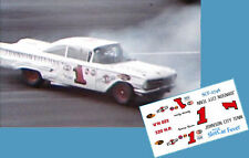 CD_2746 #1 George Green 1960 Chevrolet    1:25 Scale Decals