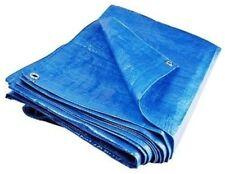 Heavy Duty Waterproof Lightweight Tarpaulin Ground Sheet Polyethylene Cover PVC*