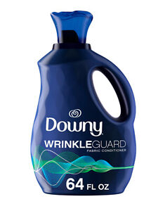 Liquid Fabric Softener, Downy Wrinkleguard Fresh, 64 fl oz