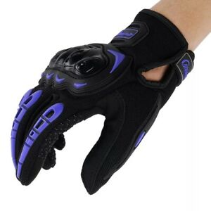 Motorcycle Leather Glove Touch Screen Full Finger Breathable Racing Riding power