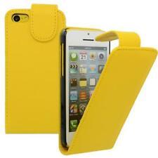 Für Apple iPhone 5C GELB - Kunstleder Tasche, Handytasche, Case, Hülle, Schutz