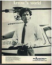 Publicité Advertising 1980 Pret à porter les chemises Homme Arrow