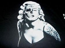 Marilyn Monroe Skull Shirt ( Size L Tag Has Been Cut ) NEW!!!