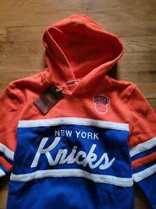 Mitchell & Ness NBA Youth sz L New York Knicks Head Coach Hoodie New nwt NY
