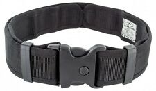 Highlander Security Belt Black - Quick Release Buckle Police Security Forces