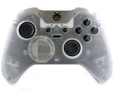 """Crystal"" CUSTOM Un-Modded Microsoft Xbox One Elite  Wireless Controller"