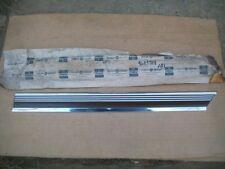 1972 72 Chrysler Newport Custom NOS MoPar Left FENDER FRONT MOLDING Brown