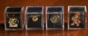 Vintage Miami Dolphins Pin Lot Lapel Hat Super Bowl Dan Marino 4 Pins NFL